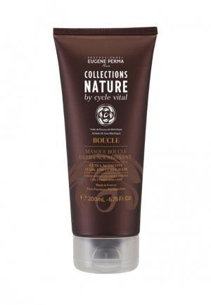 Маска для волос Eugene perma. Цвет: коричневый