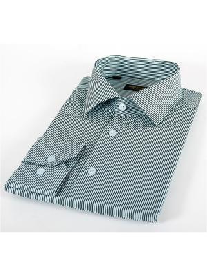 Рубашка Hans Grubber. Цвет: зеленый