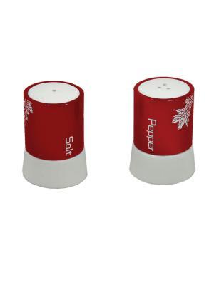 Набор для специй Красный Barton Steel. Цвет: красный