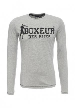 Лонгслив Boxeur Des Rues. Цвет: серый