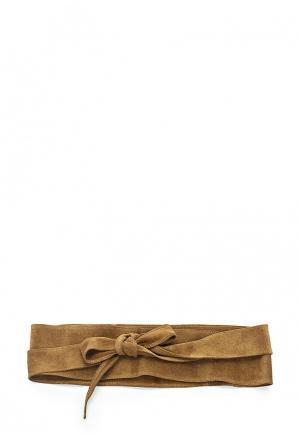 Пояс Olio Rosti. Цвет: коричневый
