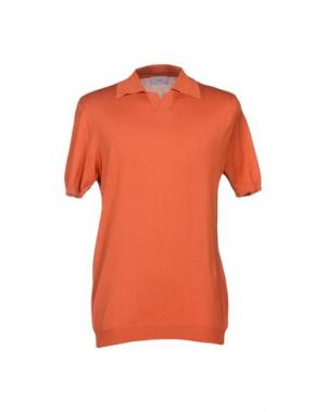 Свитер SLEEP. Цвет: оранжевый