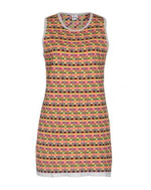 Короткое платье AKEP. Цвет: розовый