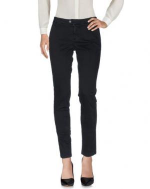 Повседневные брюки BONHEUR. Цвет: черный