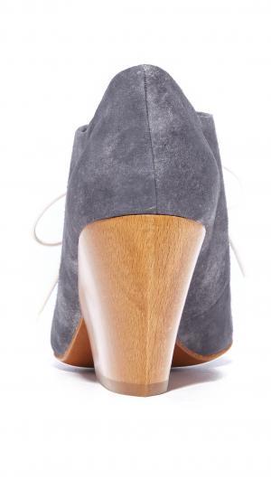 Bea Block Heel Oxfords Coclico Shoes