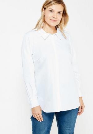 Рубашка Zizzi. Цвет: белый
