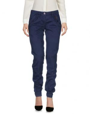 Повседневные брюки PENN-RICH WOOLRICH (PA). Цвет: темно-синий