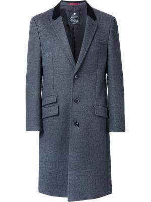 Пальто с карманами Loveless. Цвет: серый