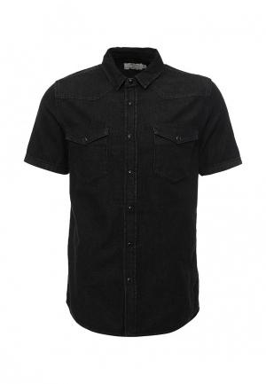 Рубашка джинсовая Topman. Цвет: серый