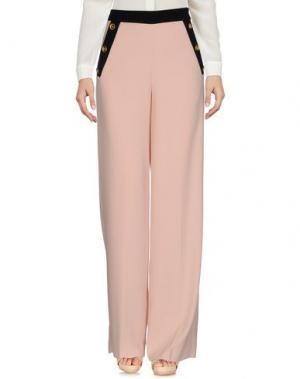 Повседневные брюки EDWARD ACHOUR. Цвет: розовый