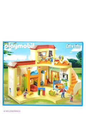 Детский сад Солнышко Playmobil. Цвет: желтый