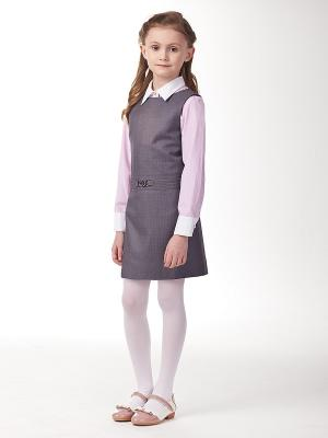 Платье VILATTE. Цвет: серый