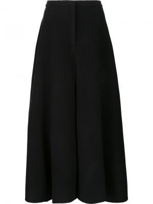 Широкие брюки Xiao Li. Цвет: чёрный
