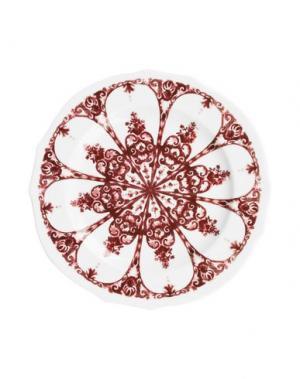 Декоративная тарелка RICHARD GINORI. Цвет: красно-коричневый