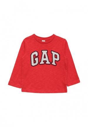 Лонгслив Gap. Цвет: красный