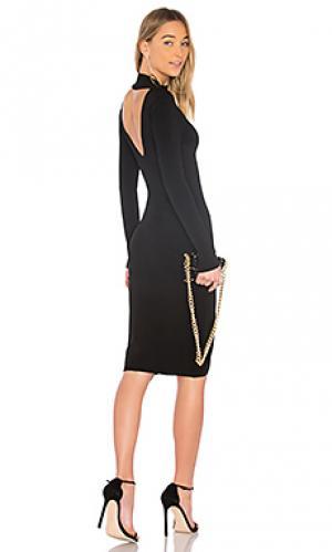 Платье свитер Autumn Cashmere. Цвет: черный