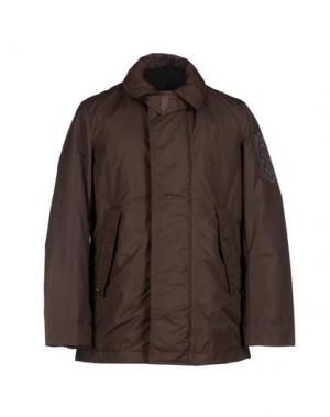 Куртка RRD. Цвет: темно-коричневый