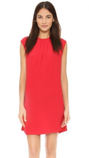 Платье Corallo Otto d'ame. Цвет: красный