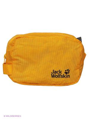 Сумка ALL-IN 1 POUCH Jack Wolfskin. Цвет: желтый