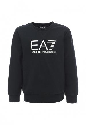 Свитшот EA7. Цвет: черный
