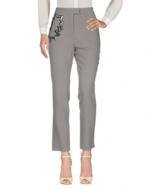 Повседневные брюки CHRISTOPHER KANE. Цвет: серый