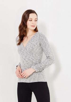 Пуловер Dorothy Perkins. Цвет: серый