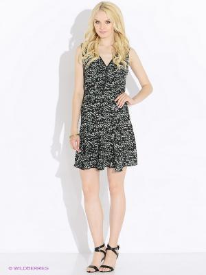 Платье GUESS. Цвет: черный