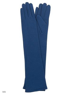 Перчатки Palantini. Цвет: бирюзовый