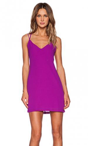 Мини платье directions Three of Something. Цвет: фиолетовый