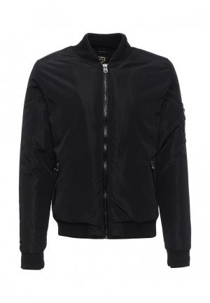 Куртка утепленная Born Rich. Цвет: черный