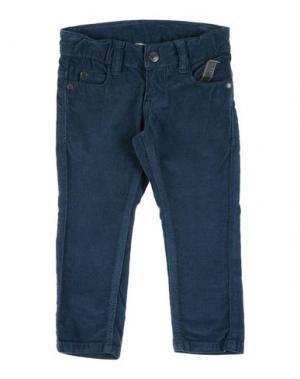 Повседневные брюки IMPS&ELFS. Цвет: грифельно-синий