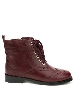 Ботинки Lisette. Цвет: бордовый