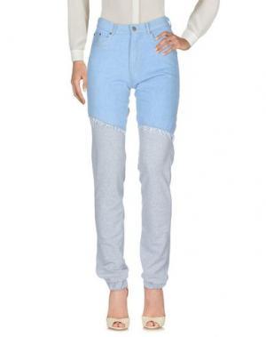 Повседневные брюки ANDREA CREWS. Цвет: серый