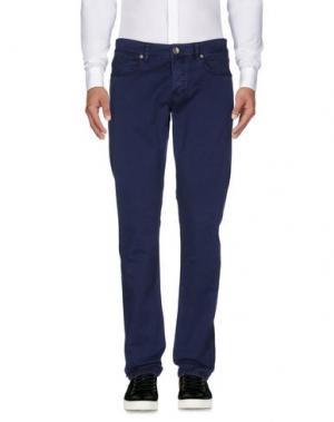Повседневные брюки SIVIGLIA WHITE. Цвет: синий