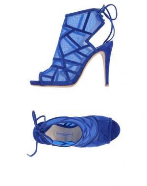 Сандалии ROBERTO FESTA. Цвет: ярко-синий