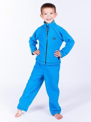 Кофта Радуга ЛисФлис. Цвет: голубой