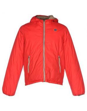 Куртка GABARDINE. Цвет: красный