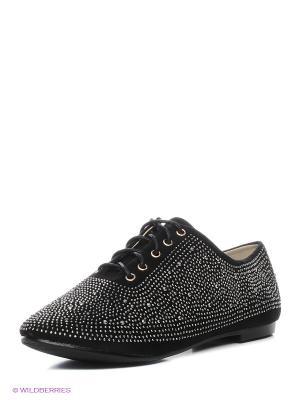 Ботинки STESSO. Цвет: черный
