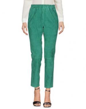 Повседневные брюки ENES. Цвет: зеленый