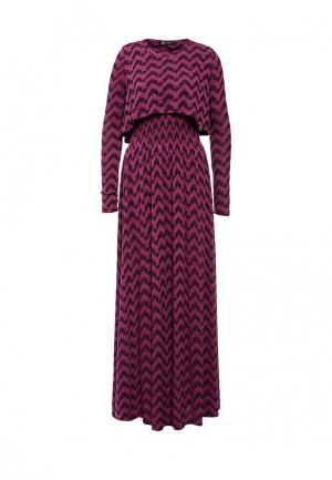 Платье Sahera Rahmani. Цвет: бордовый