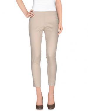 Повседневные брюки AGATHA CRI. Цвет: светло-серый
