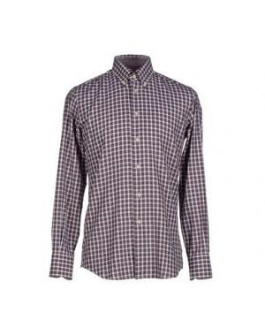 Pубашка QUEENSWAY. Цвет: фиолетовый