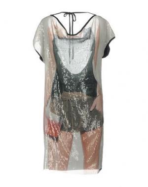 Короткое платье KORALLINE. Цвет: зеленый