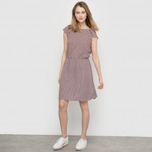 Платье с рисунком и декольте сзади MADEMOISELLE R. Цвет: набивной рисунок