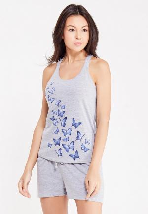Пижама ТВОЕ. Цвет: серый