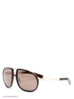 Солнцезащитные очки Dsquared. Цвет: черный, золотистый