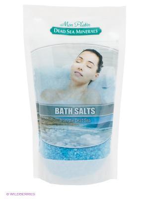 Натуральная соль Мертвого моря с ароматическими маслами (голубая), Mon Platin DSM. Цвет: голубой