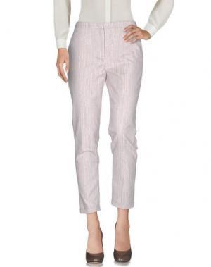 Повседневные брюки LORENA ANTONIAZZI. Цвет: бежевый