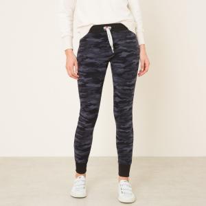 Брюки HIGH SWEET PANTS. Цвет: черный наб. рисунок