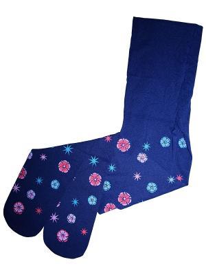 Колготки 1 пара Master Socks. Цвет: синий